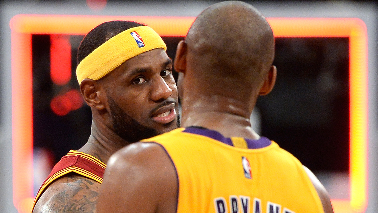 685761857ba Lakers  LeBron James says Kobe Bryant  knows he don t suck