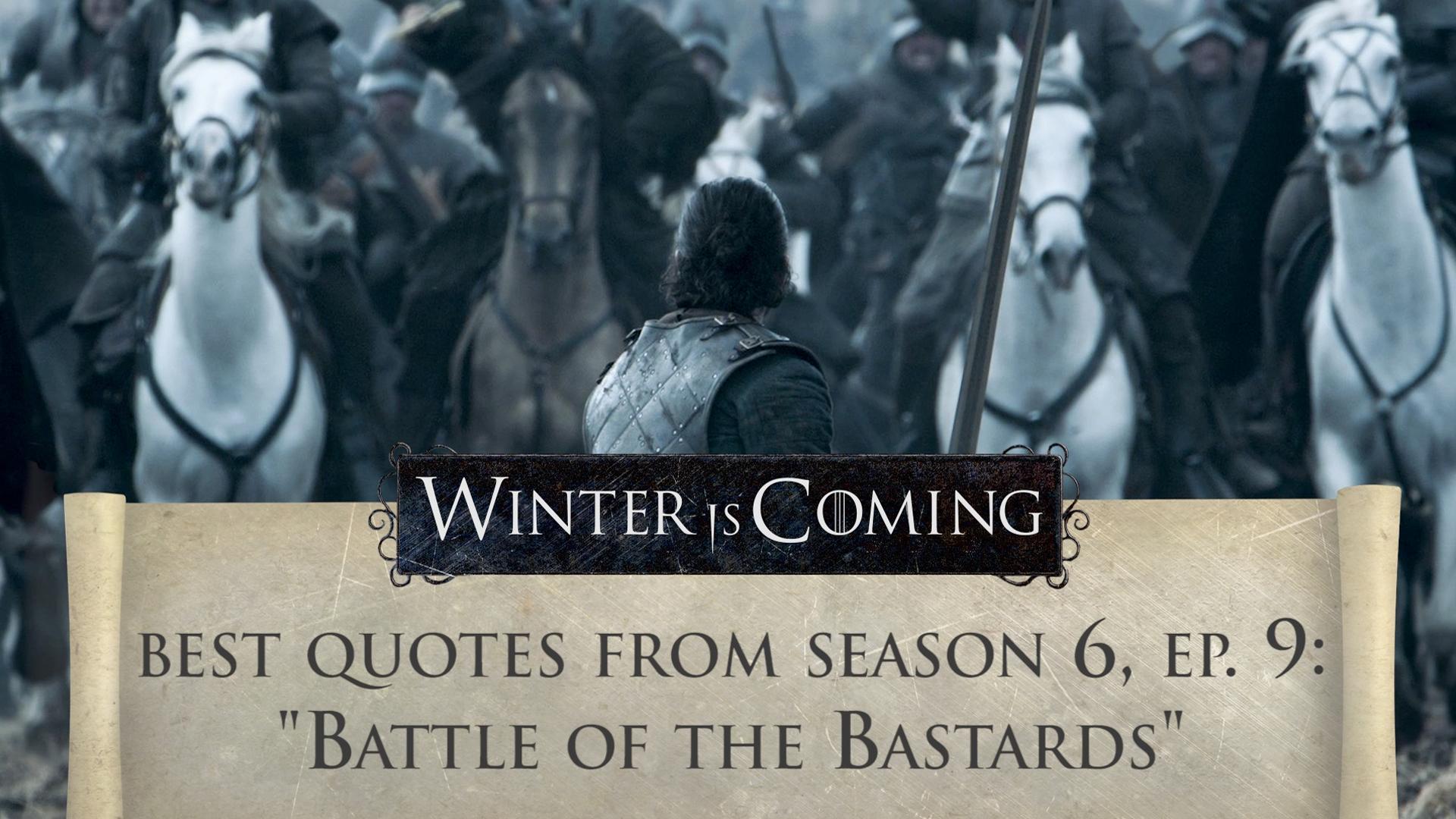 Review Roundup Season 6 Episode 9 Battle Of The Bastards
